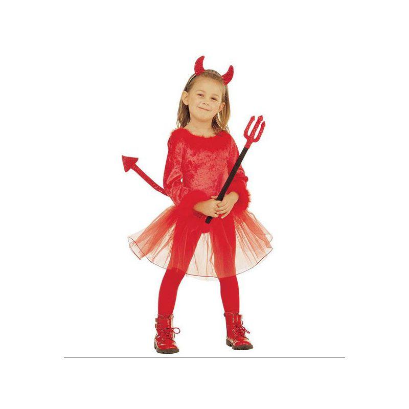 Disfraz diablesa niña de 3 a 5 años Barullo