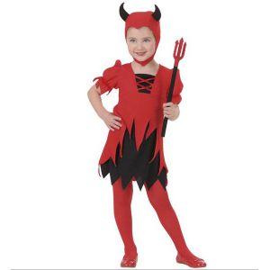 Disfraz diablesa 2-3 y 3-4 años
