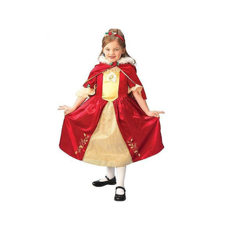 disfraz bella roja deluxe disney