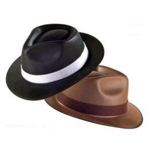 Sombrero gangster sencillo surt.