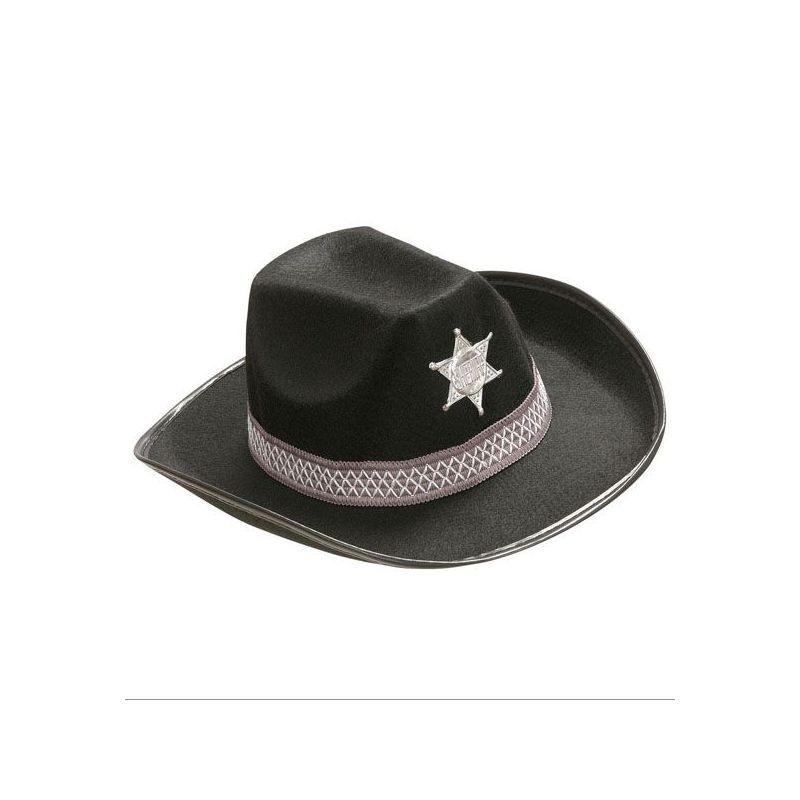 Sombrero vaquero niño negro - Barullo.com 6d4887790aa