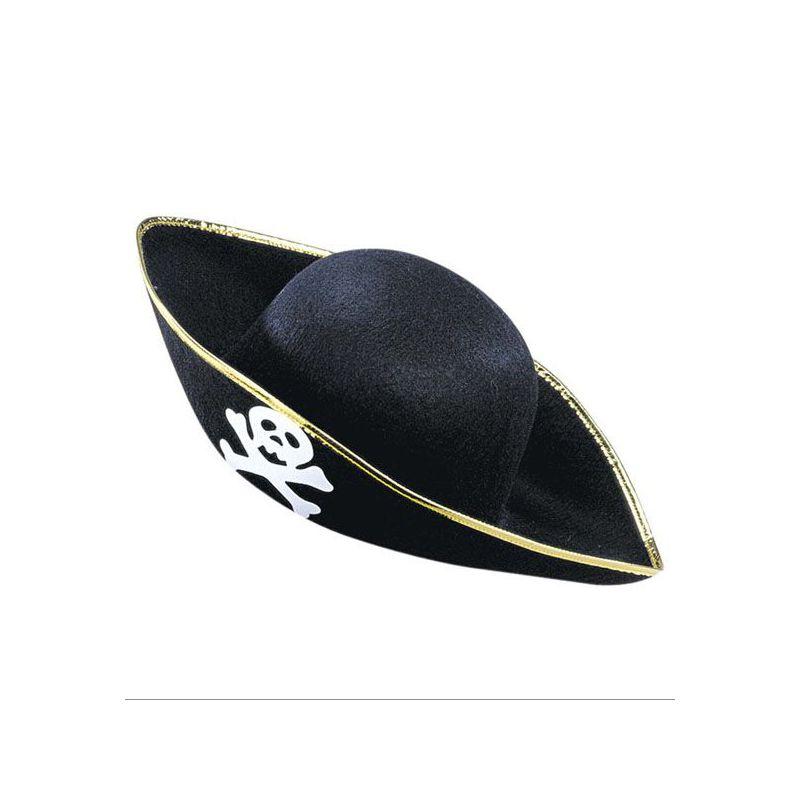 4bf8e5c9026ee Sombrero pirata adulto - Barullo.com