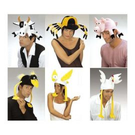 Sombrero animales 6 modelos