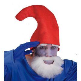 Sombrero pitufo rojo