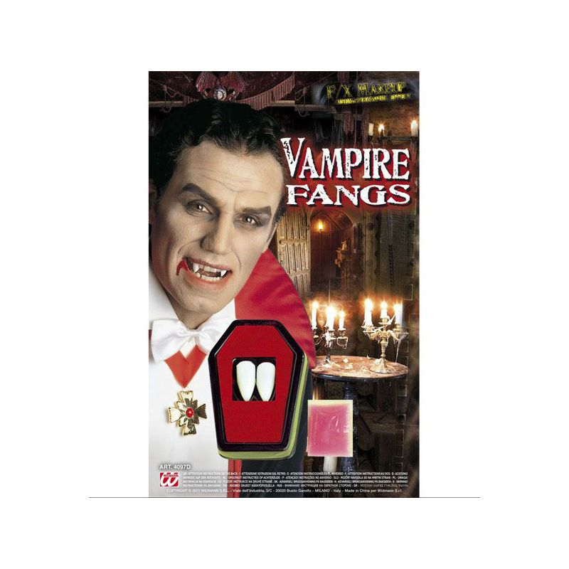 Dientes vampiro profesional 20e2455d9cb4