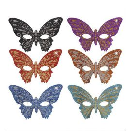 Antifaz mariposa glitter