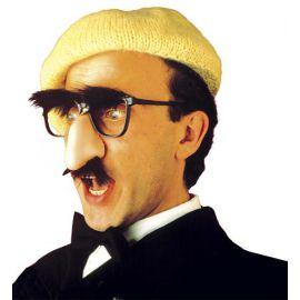 Gafas con nariz, cejas y bigote