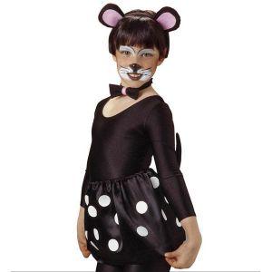 Set orejas ratón con rabito y pajarita