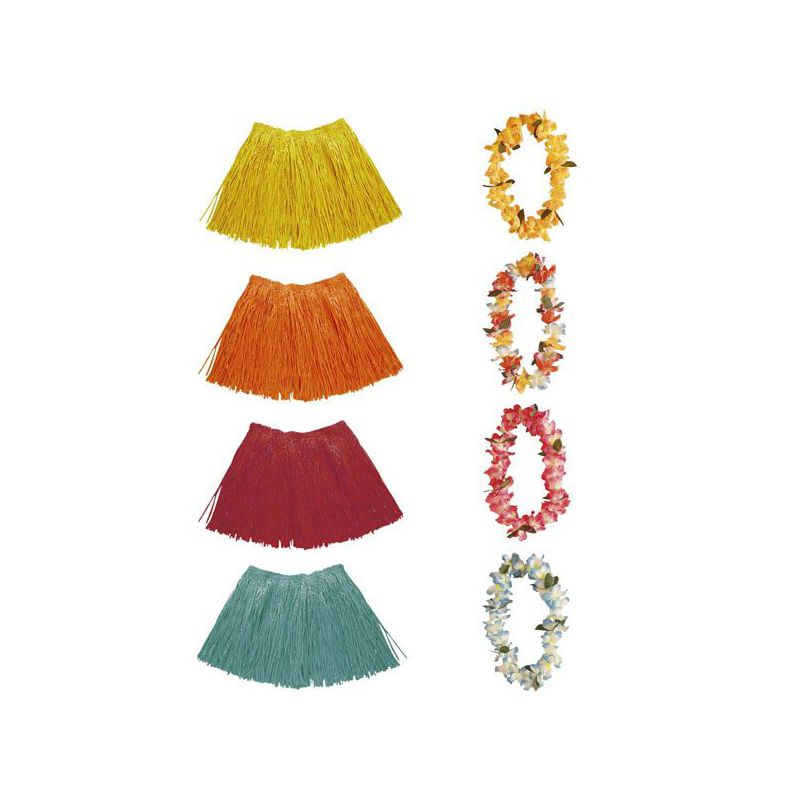 bf3c165723 Set collar y falda hawaiana - Barullo.com