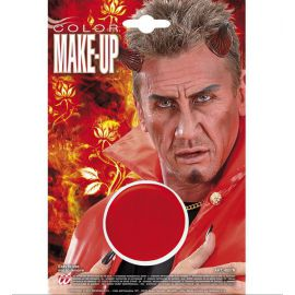 Maquillaje tarrina rojo