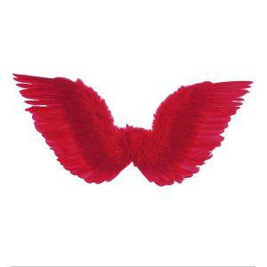 Alas plumas rojas 75x31 cm.
