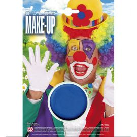 Maquillaje tarrina azul