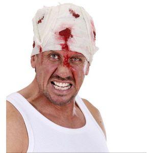 Venda cabeza sangre
