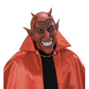 Máscara diablo rojo