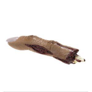 Dedo cortado 10,5 cm.