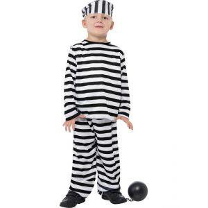 Disfraz preso infantil de 4 a 9 a?os