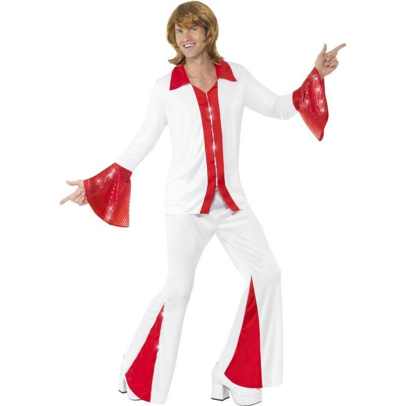 Rojo Disco Adulto Abba Hombre Disfraz Yd5w4pqq