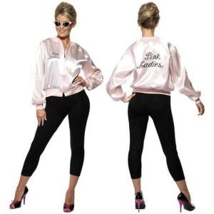 Chaqueta grease pink lady adulto