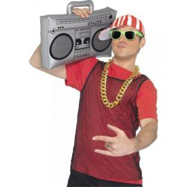 Radiocasete ghetto blaster inflable