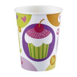 Vasos cupcake 8 und