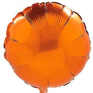 Globo helio circulo naranja
