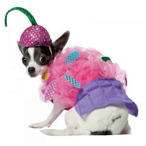 Disfraz cupcake para perros