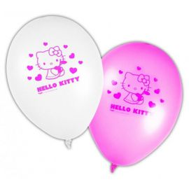 Globos hello kitty