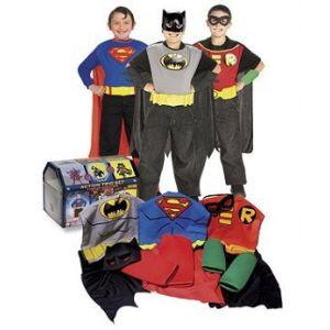 Cofre disfraces de superheroes