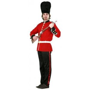 Disfraz guardia inglesa adulto