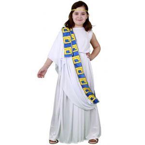 Disfraz romana largo infantil