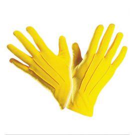 Guantes cortos amarillos