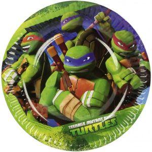 Platos tortugas ninja peque?os
