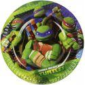 Platos Tortugas Ninja pequeños