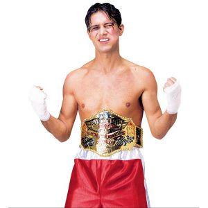 Cinturon campeon boxeo