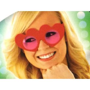 Gafas corazones