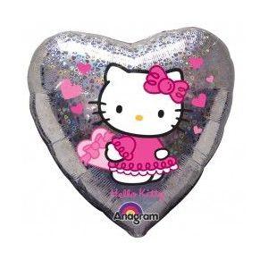 Globo helio hello kitty corazon