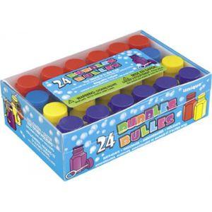 Pompas de jabon pack 24 unidades