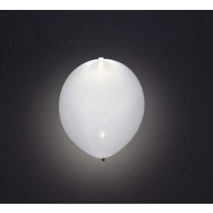 Globos con luz led 5 unidades blancos
