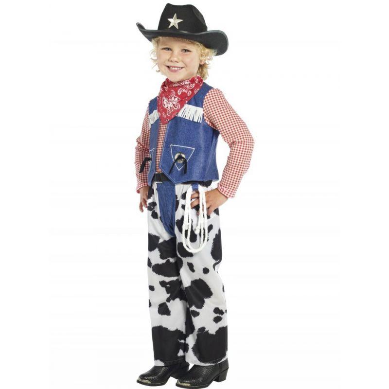 Disfraz vaquero con sombrero niños de 4 a 9 años - Barullo.com 7e67ed72380