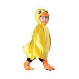 disfraz bebe patito amarillo
