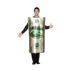 Disfraz billete de 100 dolares