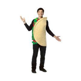 Disfraz taco mexicano