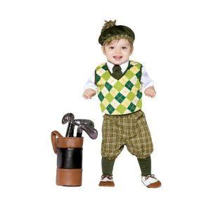 Disfraz bebe jugador de golf