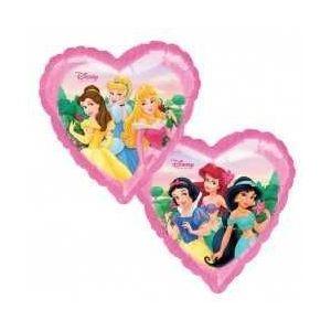 Globo helio princesas corazon