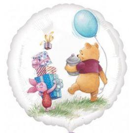 Globo helio winnie the pooh circulo