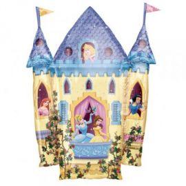 Globo helio castillo princesas