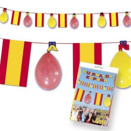 Guirnalda españa con globos