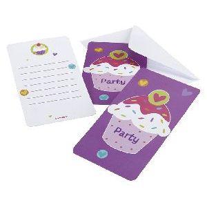 Invitaciones cupcake 6 und