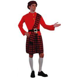 Disfraz escoces adulto basico