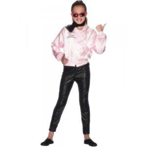 Chaqueta grease ni?a pink lady